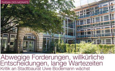 2018/08/01 Haus & Grundeigentum Hannover – Abwegige Forderungen, willkürliche Entscheidungen, lange Wartezeiten