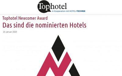 2020/01/23 Tophotel – Newcomer Award Das sind die nominierten Hotels