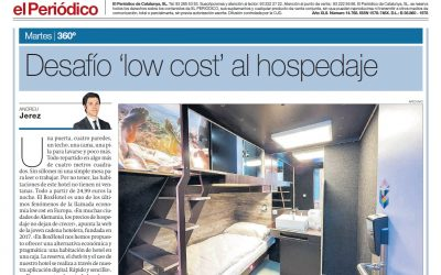 2020/02/11 el Periódico – Desafío 'low cost' al hospedaje