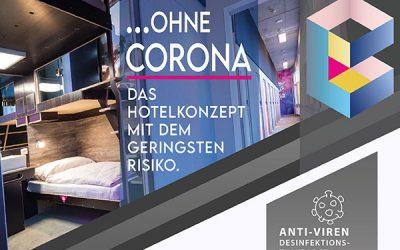 """2020/05/14 …OHNE CORONA – Das Hotelkonzept mit dem geringsten Risiko! """"Restart"""" BoxHotels Hannover & Göttingen"""